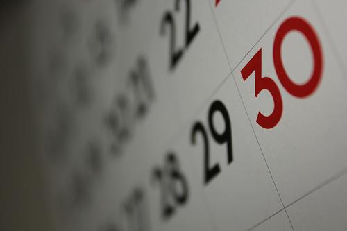 chastity slave calendar photo